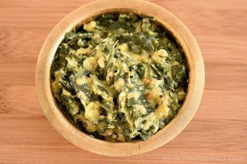 Drumstick Leaves Stir-fry / Murungai Keerai Kootu