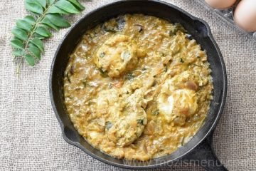 Poached / Broken Kerala Egg Curry