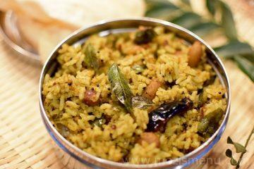 Tamarind Rice / Puliyodharai / Puli Sadam / Pulihora