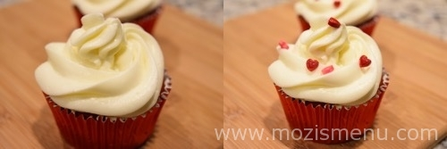 Low Fat Red Velvet Cake With Cream Cheese Frosting