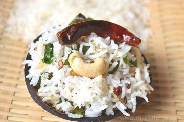 Coconut Rice / Thengai Sadam / Kobbari Annam