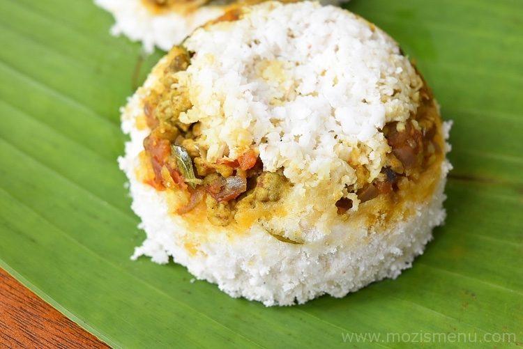 Kerala Mutta / Egg Puttu / Egg Steamed Rice Cake