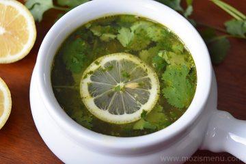 Lemon Coriander Rasam / Saaru / Chaaru / Soup