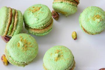 Lemon Pistachio Macarons