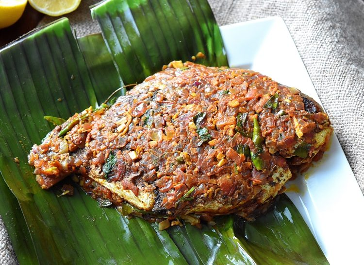 how to make indonesian banana leaf fish wraps