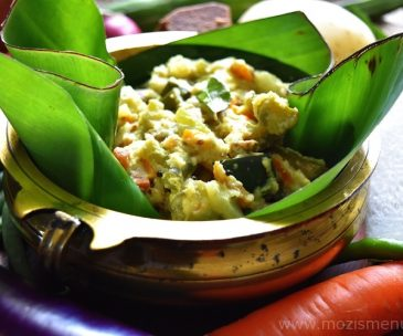 Aviyal / Avial /  Kerala Mixed Vegetable Coconut Gravy
